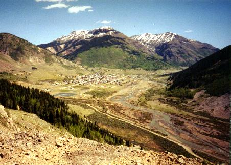 The town of Silverton