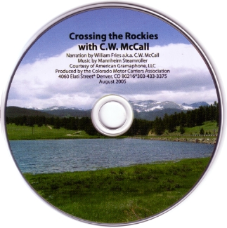 Crossing the Rockies CD