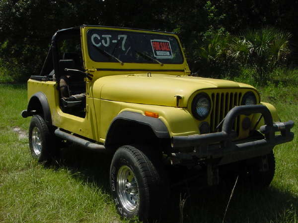 Chris Doyle's used CJ-7 before