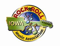 Iowa Rock 'n Roll Music Association logo