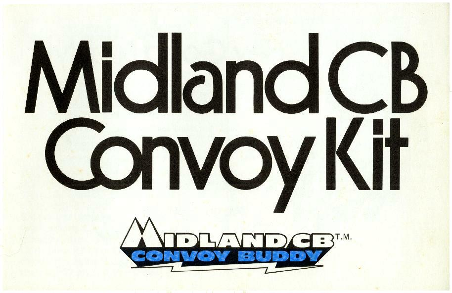 Midland CB Convoy Kit, cover