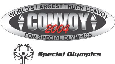 World's Largest Truck Convoy for Special Olympics, 2004